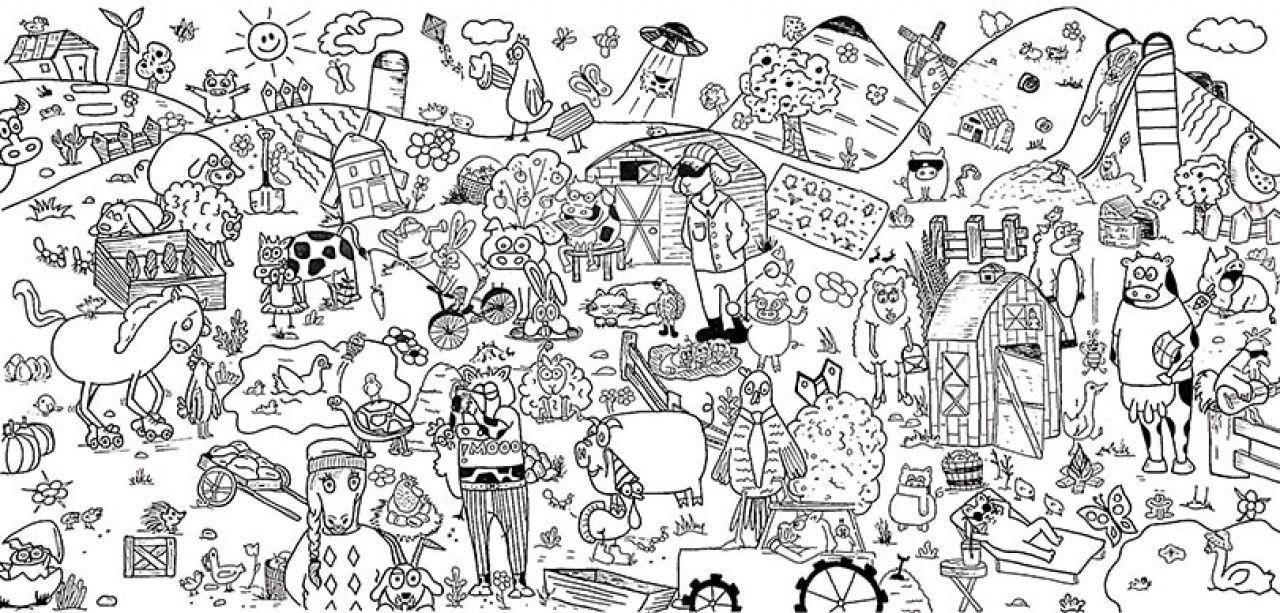 Boyama Poster Medya çuvalı Sanat Düşünce Ve Bilim Dünyası